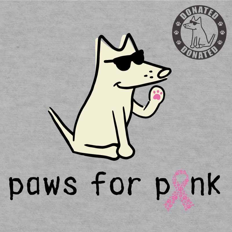 Paws For Pink - Ladies Night T-Shirt