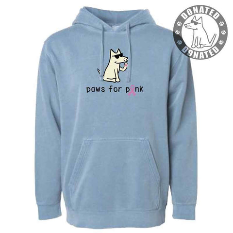 Paws For Pink - Sweatshirt Pullover Hoodie
