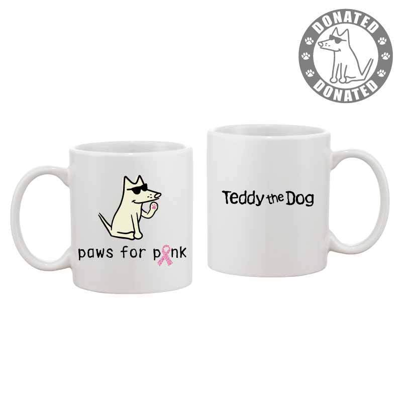 Paws For Pink - Coffee Mug