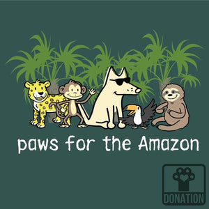 Paws For The Amazon - Classic Long-Sleeve T-Shirt