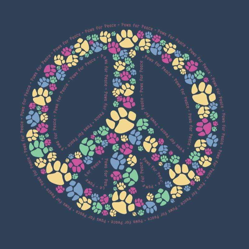 Paws For Peace - Ladies T-Shirt V-Neck