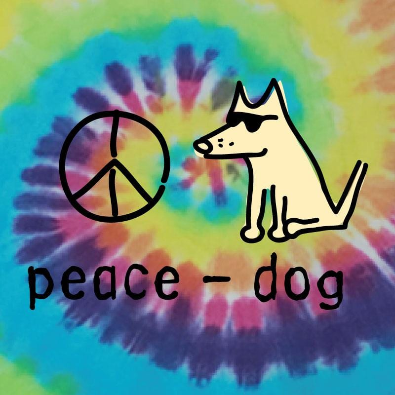 Peace Dog - Doggie Tee