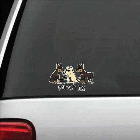 Pinsch Me Decal