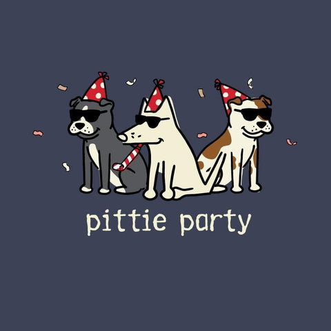 Pittie Party - Sweatshirt Pullover Hoodie