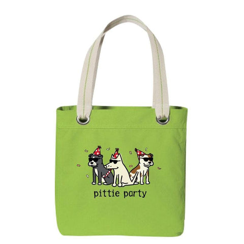 Pittie Party - Canvas Tote