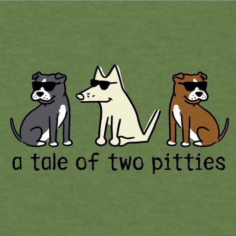 A Tale Of Two Pitties  - Lightweight Tee