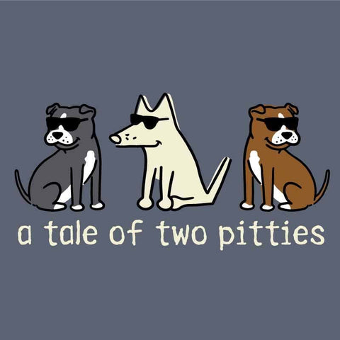 A Tale Of Two Pitties  - Classic Long-Sleeve T-Shirt