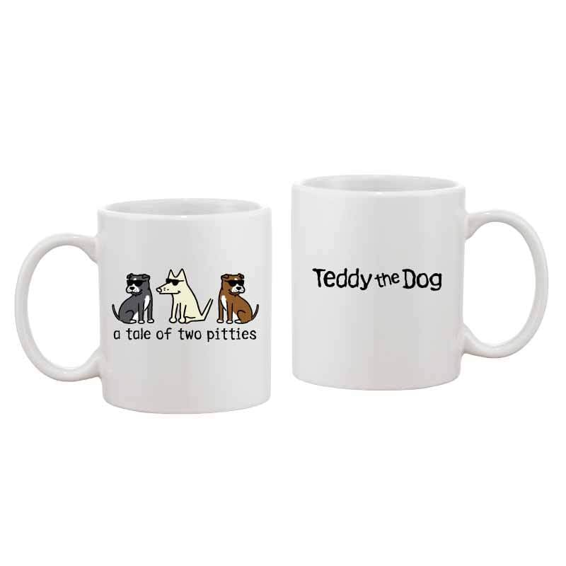 A Tale Of Two Pitties - Coffee Mug
