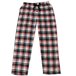 Teddy's Plaid Flannel Pants - Patriotic
