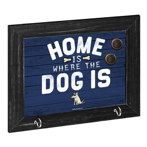 Home Is Where The Dog Is - Magnetic Board - Teddy the Dog T-Shirts and Gifts