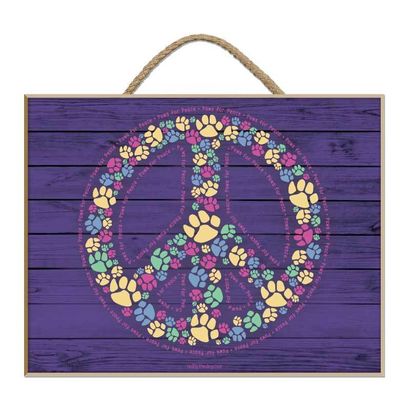 Paws For Peace - Plaque