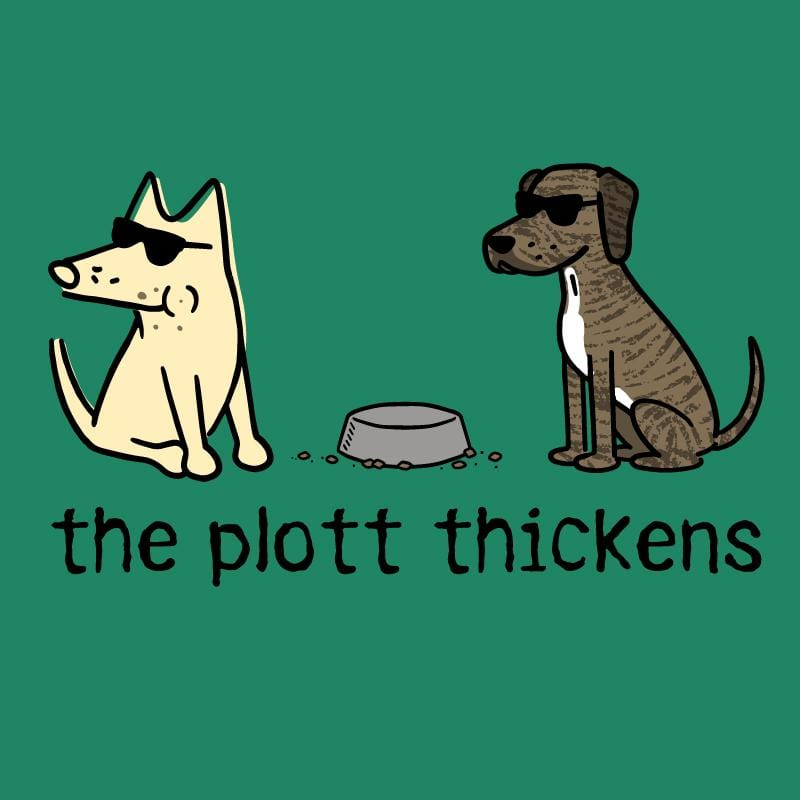 The Plott Thickens - Ladies T-Shirt V-Neck