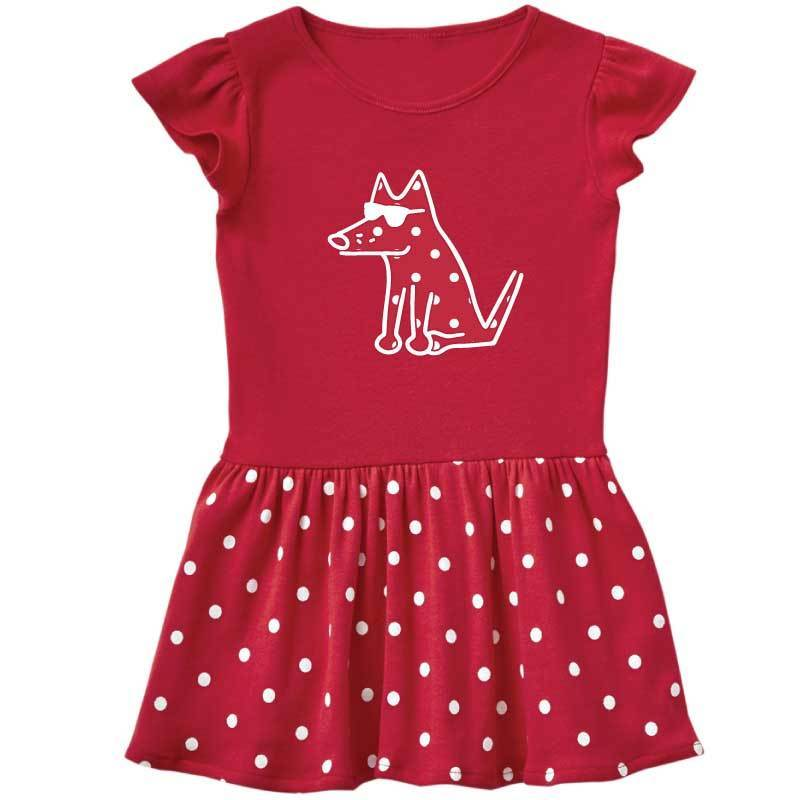 Teddy's Sweet Spot Dress -  Toddler Dress