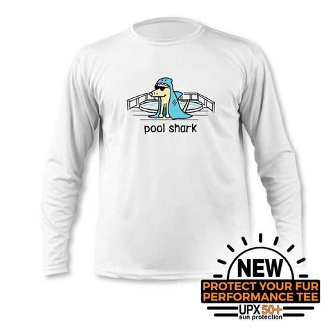 Pool Shark - Youth Long Sleeve Sun Shirt
