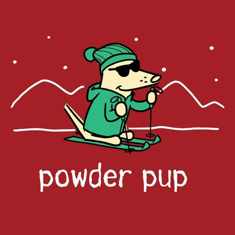 Powder Pup - Ladies Long-Sleeve T-Shirt
