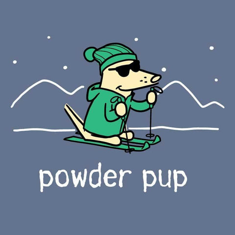 Powder Pup - Classic Long-Sleeve T-Shirt