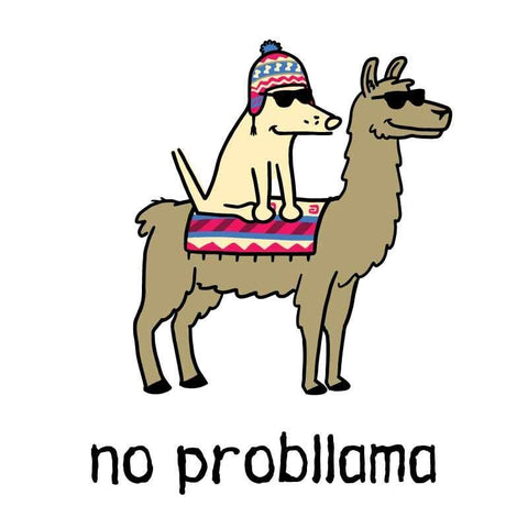 No Probllama - Coffee Mug