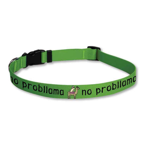 No Probllama - Dog Collars