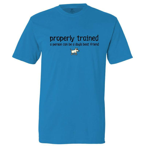 properly trained garment dyed classic t-shirt