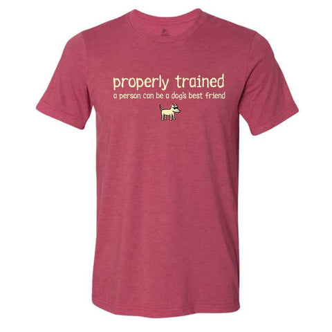 Properly Trained - Lightweight Tee