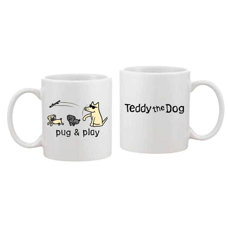 Pug & Play - Coffee Mug