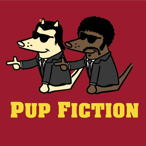 Pup Fiction - Canvas Tote