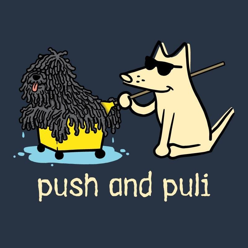 Push And Puli - Ladies T-Shirt 3-4 Sleeve