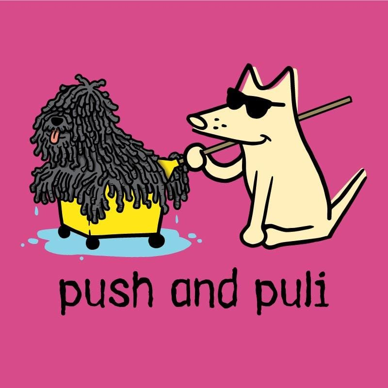 Push And Puli - Canvas Tote