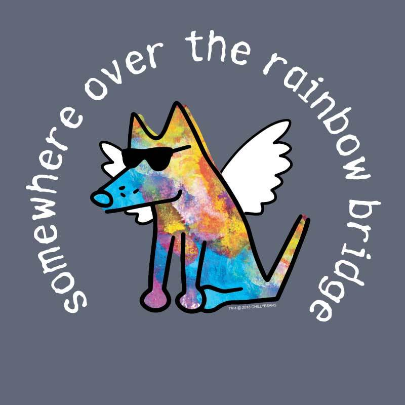 Somewhere Over The Rainbow Bridge  - Classic Long-Sleeve T-Shirt