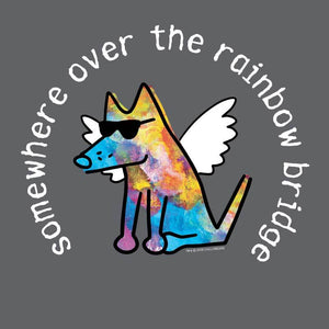 Somewhere Over The Rainbow Bridge - Sweatshirt Pullover Hoodie