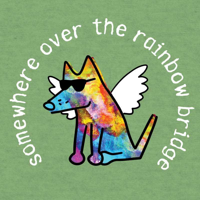 Somewhere Over The Rainbow Bridge - Lightweight Tee