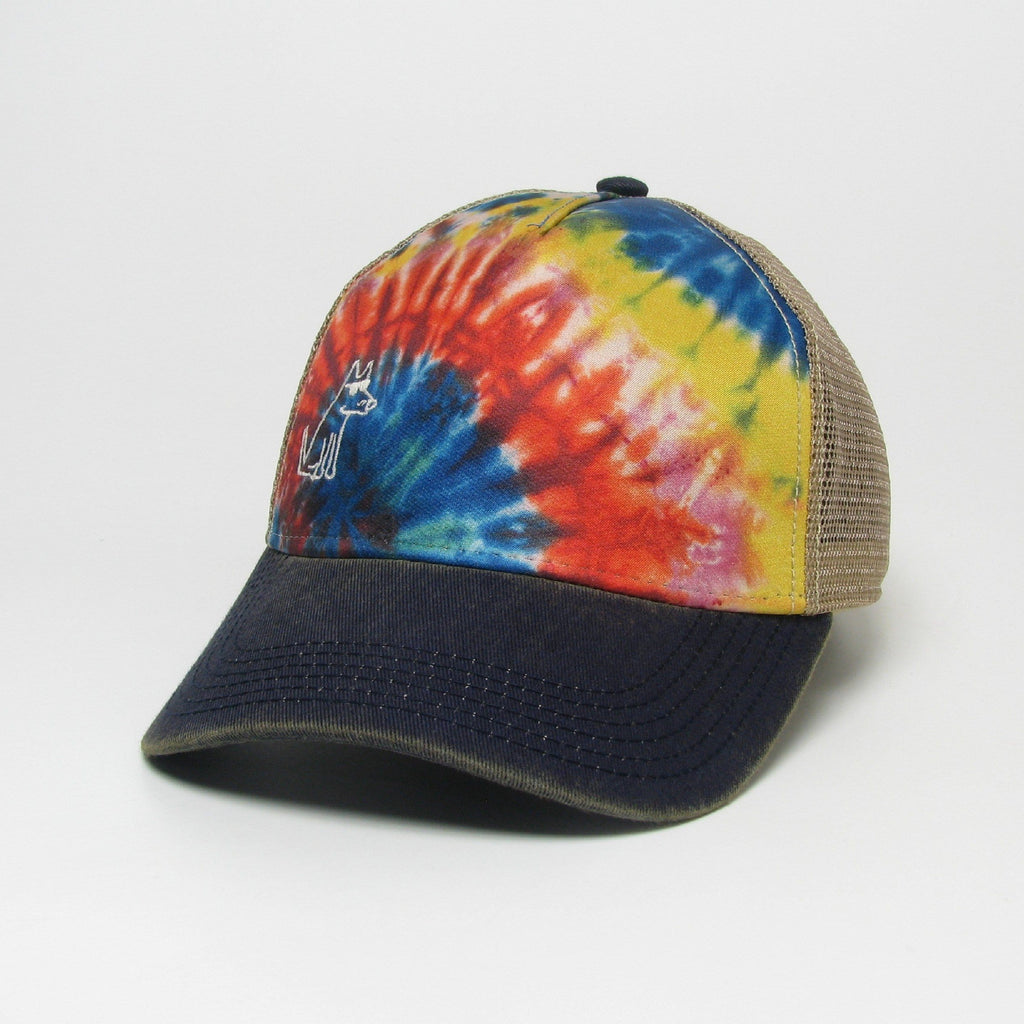 Teddy's Rainbow Tie Dye - Trucker Hat