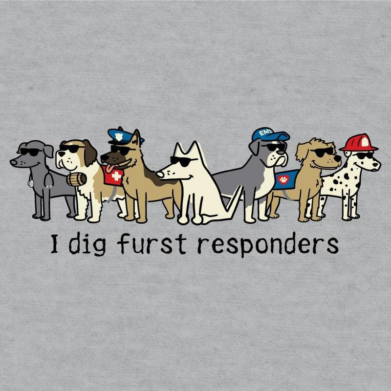 I Dig Furst Responders - Ladies Night T-Shirt