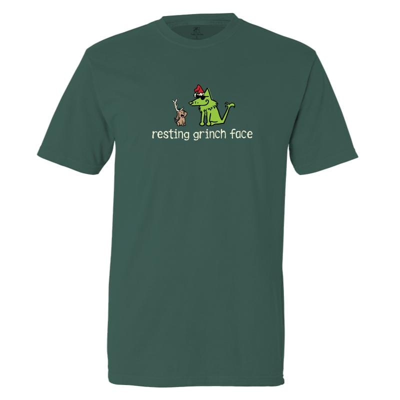 Resting Grinch Face - Classic Tee
