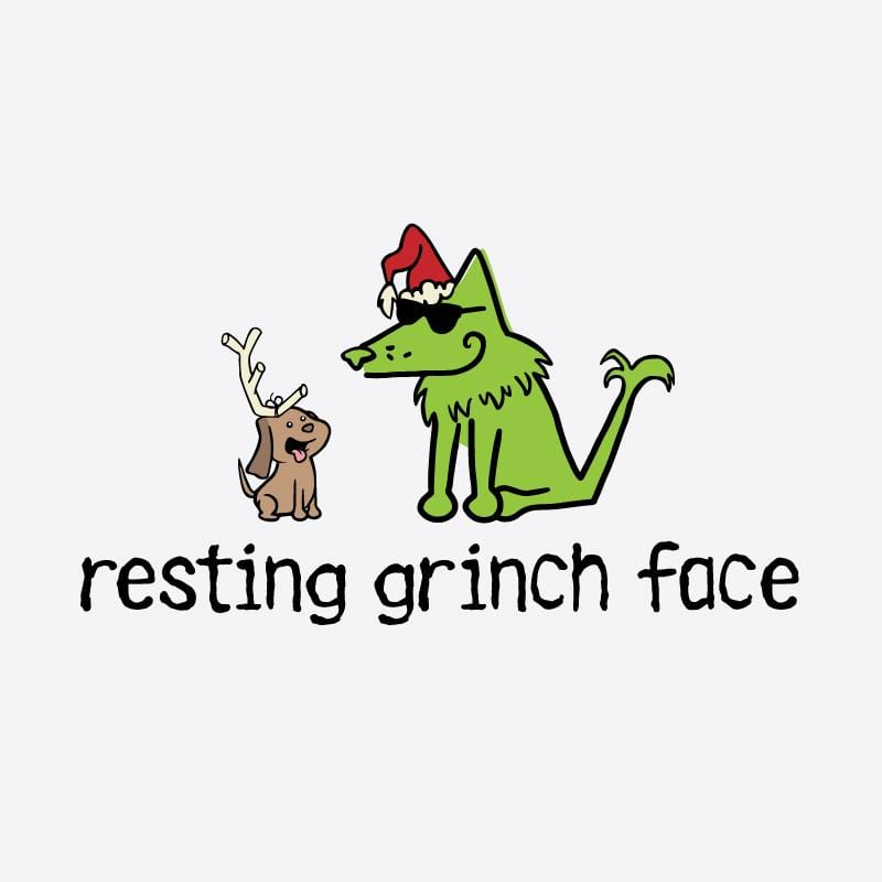 Resting Grinch Face - Coffee Mug