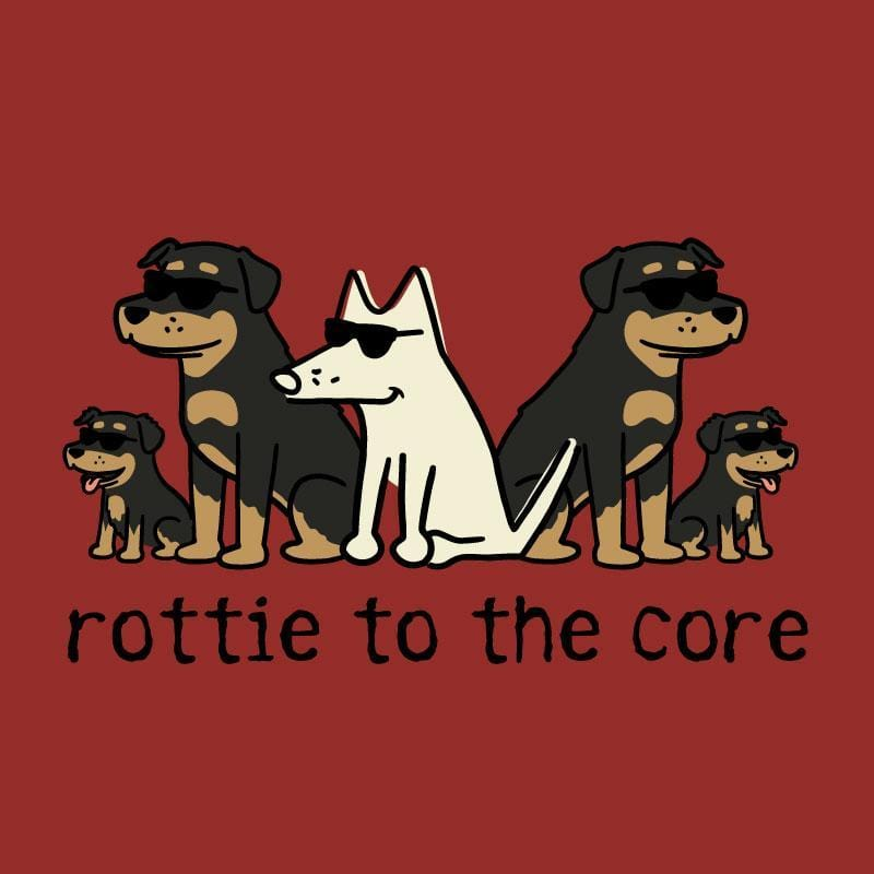 Rottie To The Core - Sweatshirt Pullover Hoodie