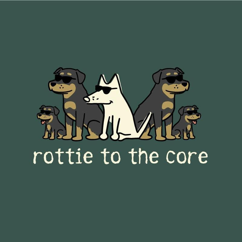 Rottie To The Core - Classic Tee