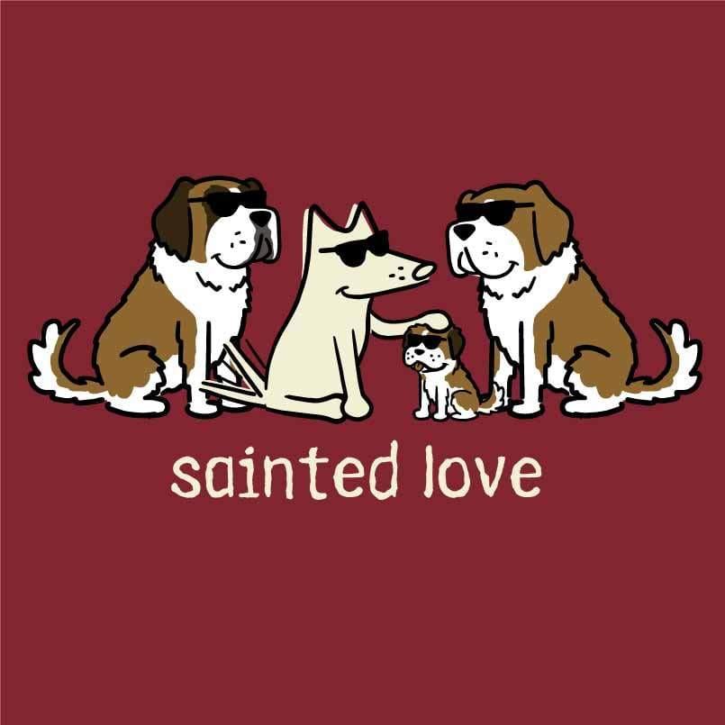 Sainted Love - Ladies T-Shirt V-Neck
