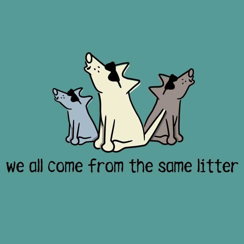 We All Come From The Same Litter - Classic Tee