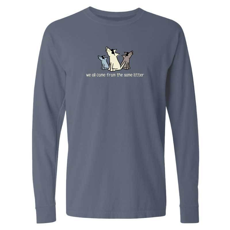 We All Come From The Same Litter - Long-Sleeve T-Shirt Classic