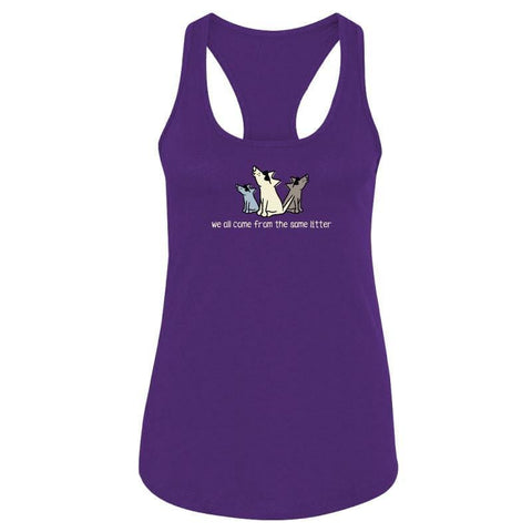 We All Come From The Same Litter - Ladies Tank Top