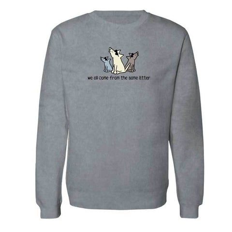 We All Come From The Same Litter - Crew Neck Sweatshirt