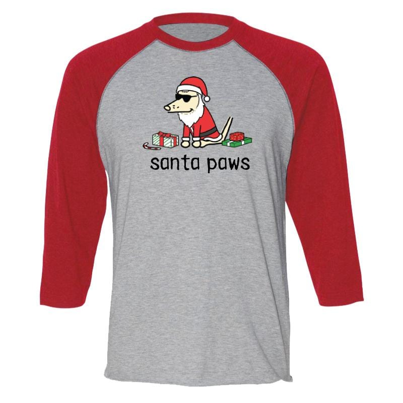 Santa Paws - Baseball T-Shirt