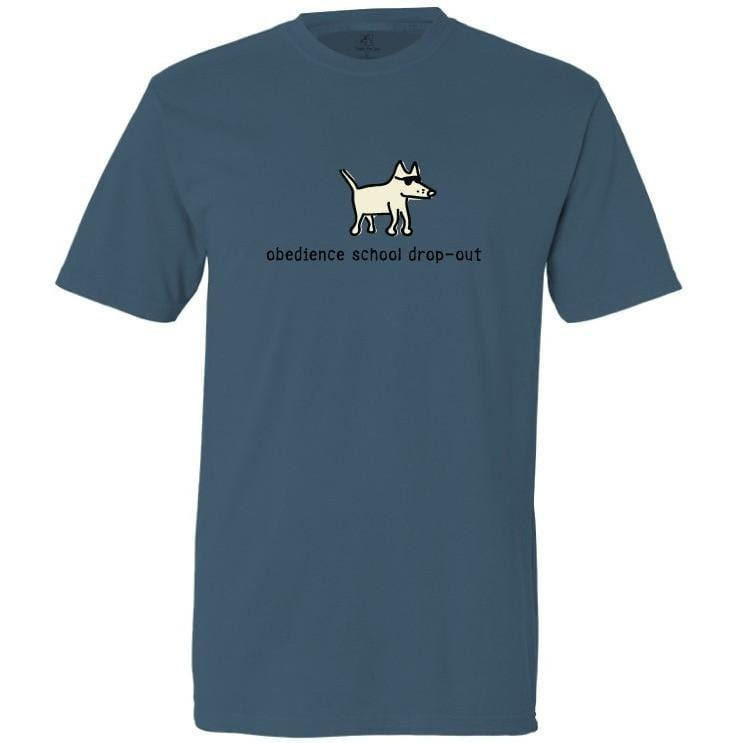 obedience school dropout garment dyed classic t-shirt