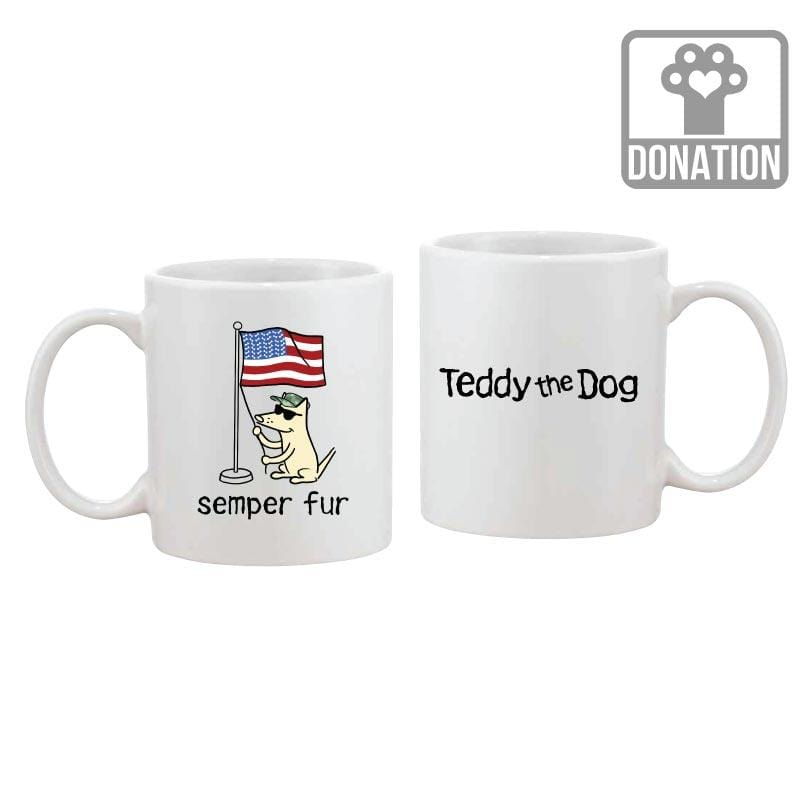 Semper Fur - Coffee Mug