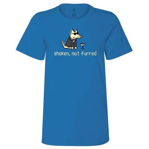 Shaken, Not Furred - Ladies T-Shirt Crew Neck