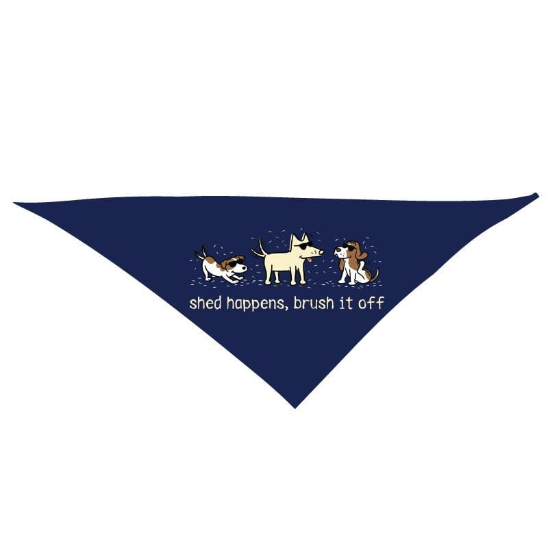 Shed Happens, Brush It Off - Doggie Bandana