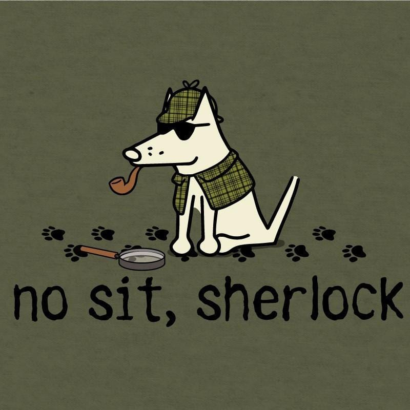 no sit sherlock long sleeve t shirt hoodie