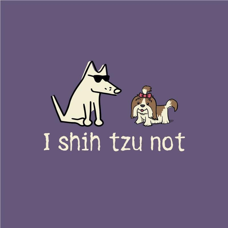 I Shih Tzu Not T-Shirt - Classic Garment Dyed - Teddy the Dog T-Shirts and Gifts