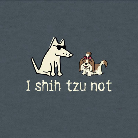 I Shih Tzu Not - T-Shirt Lightweight Blend - Teddy the Dog T-Shirts and Gifts